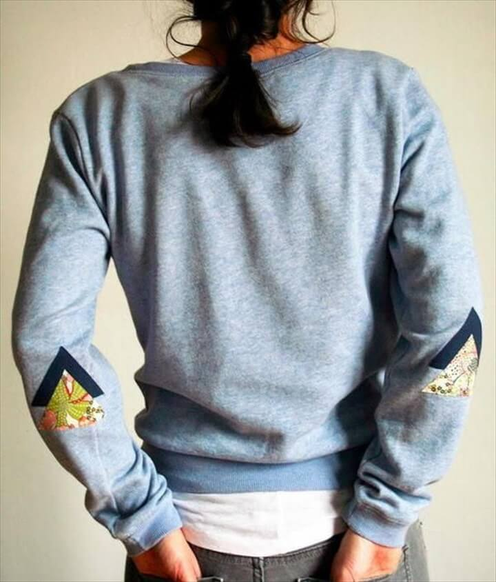 DIY Clothes Elbow Patching