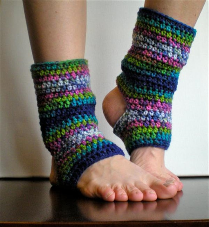DIY Crochet Leg Warmers For Women's