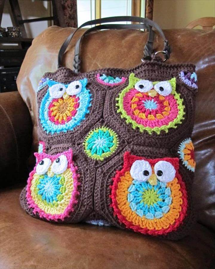 50 DIY Crochet Purse, Tote & Bag Patterns | DIY to Make
