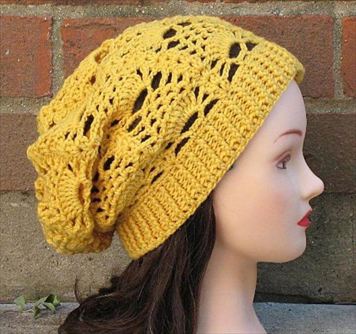 DIY Knit Crochet Hat Pattern