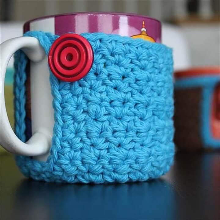 DIY Mug Coaster Cozy