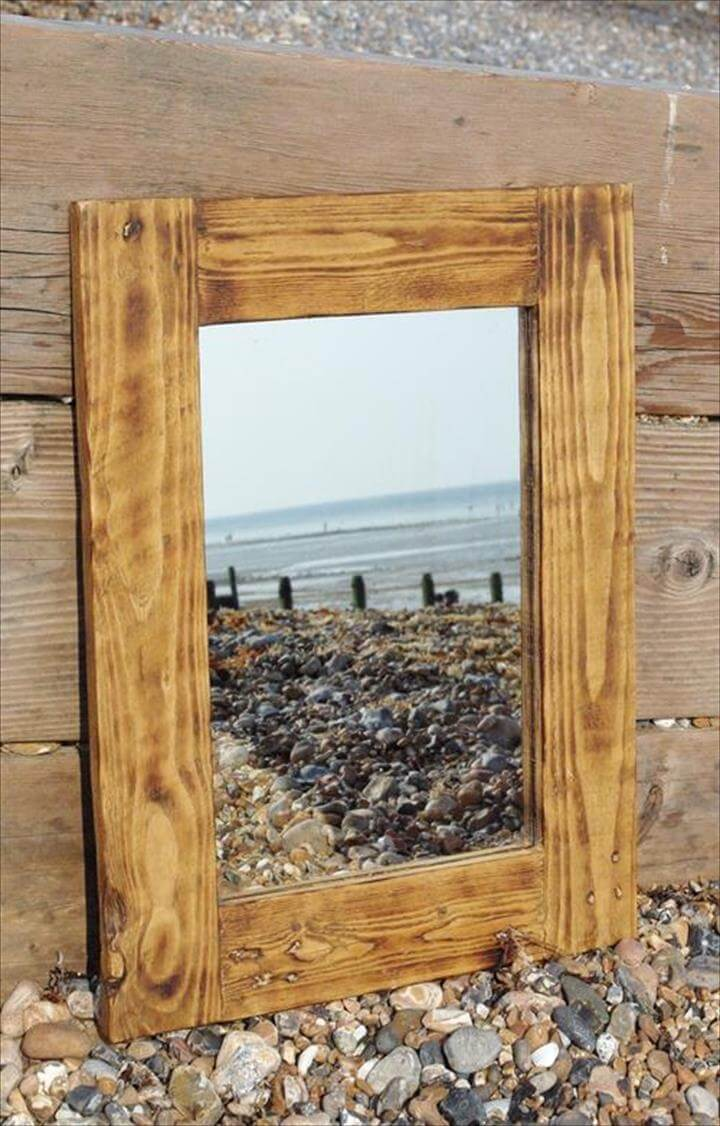 Pallet Picture Frames Diy Display