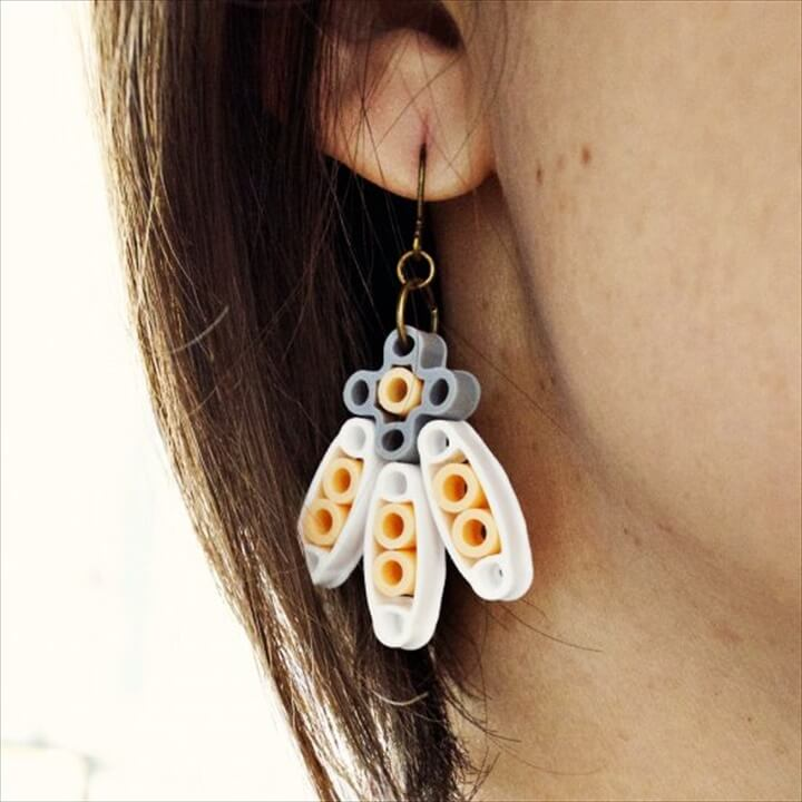 DIY Perler Bead Earrings