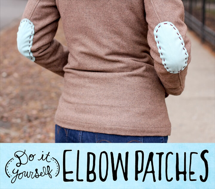 DIY: Elbow Patches