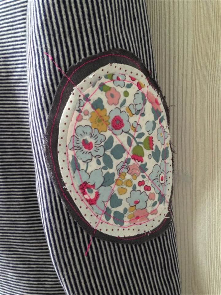 Flower Elbow Patch