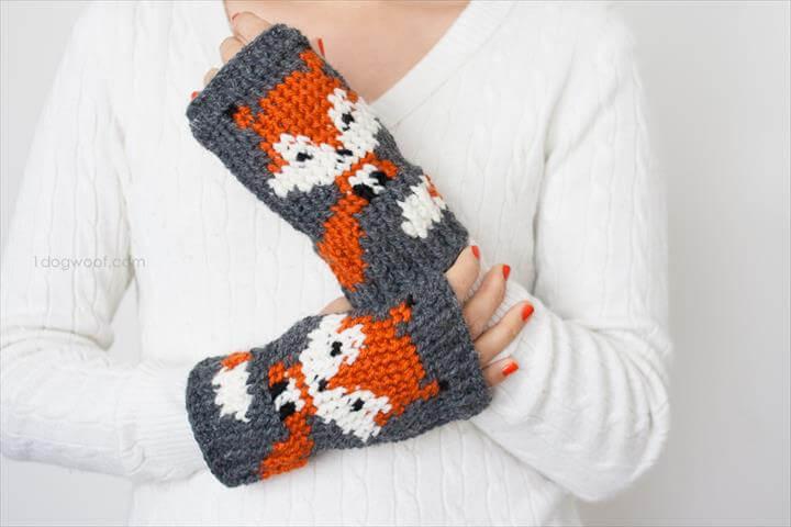 fox-fingerless-gloves