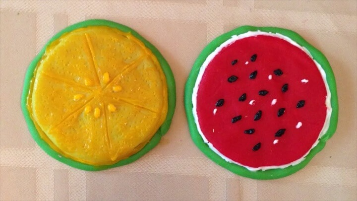 Pretty Fruity Tea Coasters