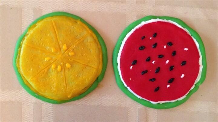 Pretty Fruity Tea Coasters