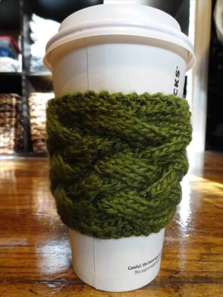Crochet Coffee Cozy Tutorials