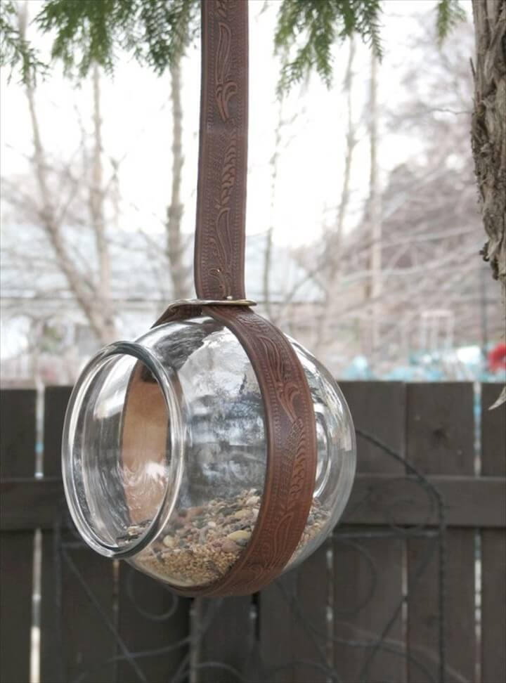 diy birds feeder
