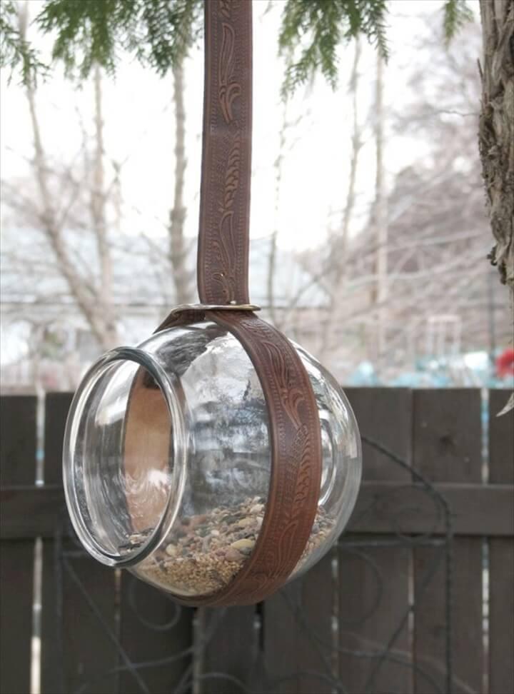 diy birds feeder
