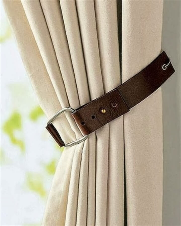 Curtain Tiebacks Belt
