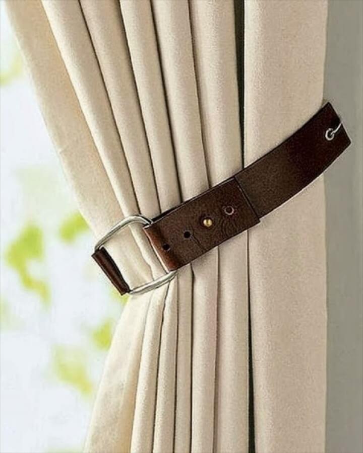 Curtain Tiebacks Belt