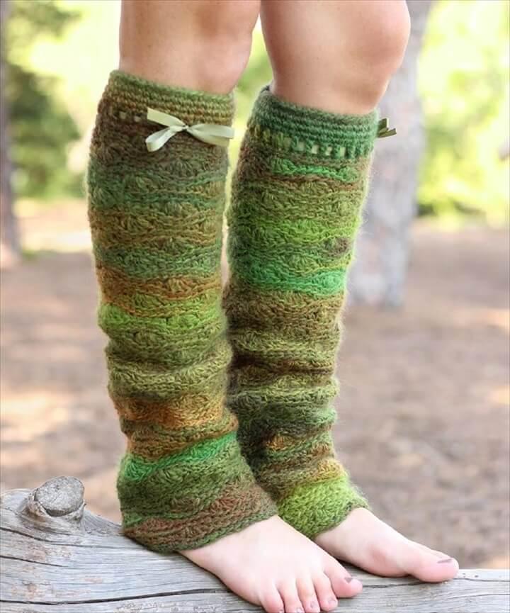 New Crochet Pattern: Wilderness Leg Warmers