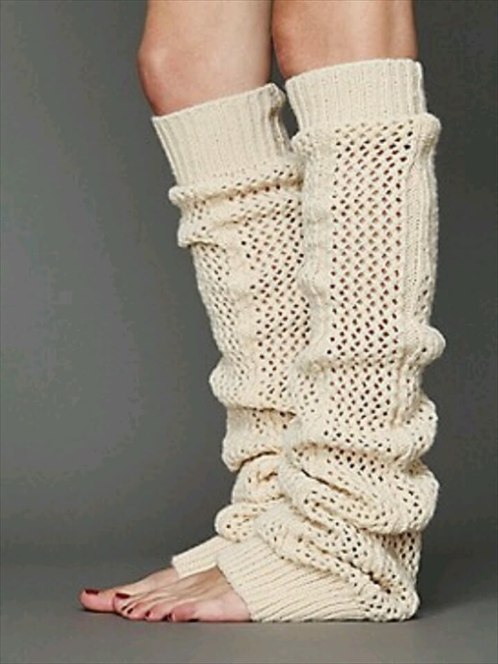 20 Diy Crochet Leg Warmer Ideas For Girls Diy To Make