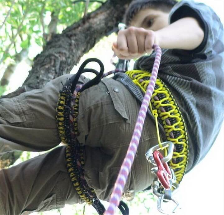 DIY Harness for Climbing