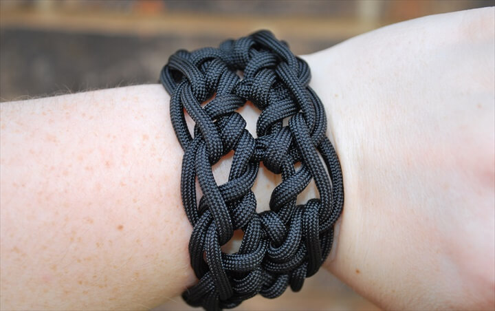 Paracord Cuff Bracelet
