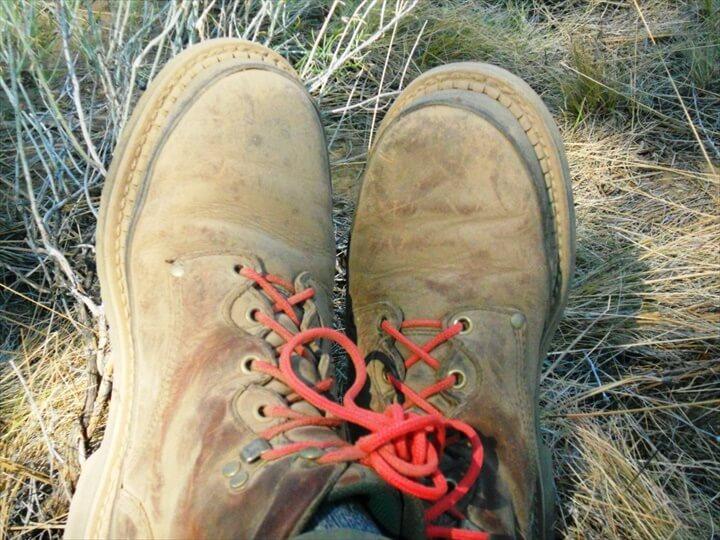 DIY Paracord Shoelaces