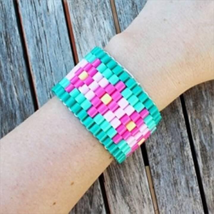 DIY Hama Beads Bracelet