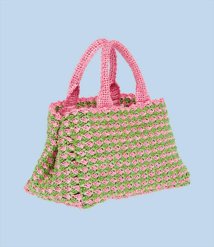 Prada Crochet bag