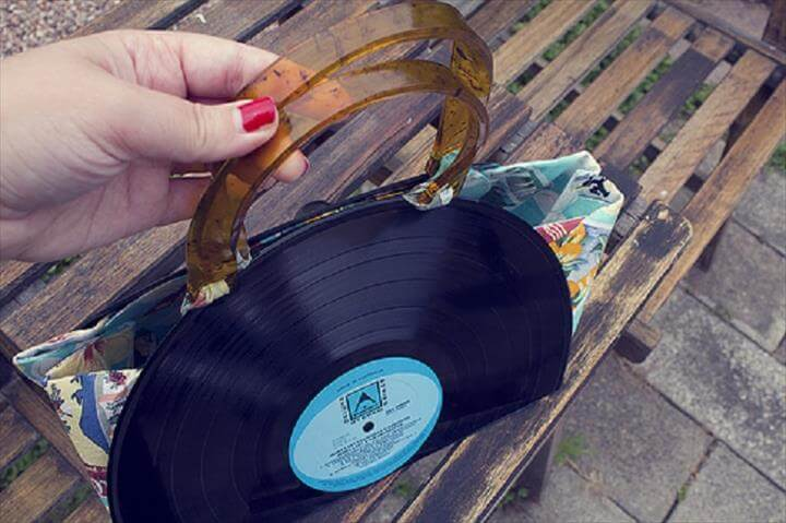 28 Awesome Projects Made From Old Records Diy To Make