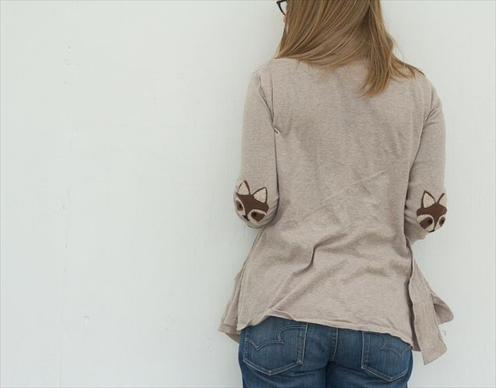 Leaf Elbow Patch,accoon elbow patches. you can do this with pretty much anything: