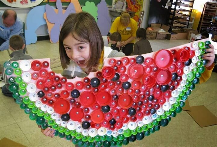 bottle cap watermelon