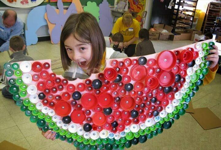 bottle cap watermelon