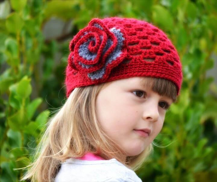 Cloche Hat Crochet Pattern