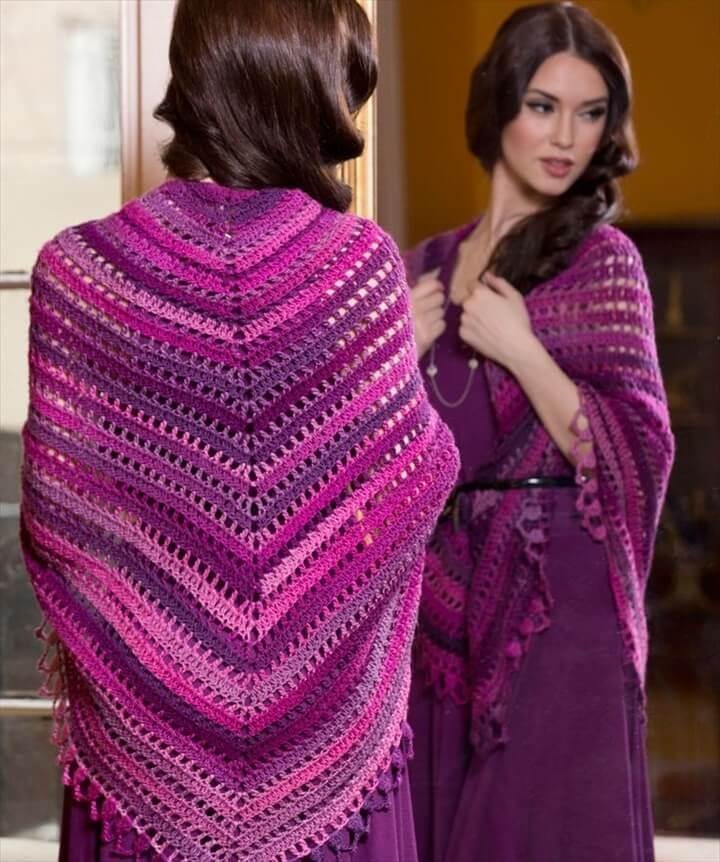Crochet Ponchos Pattern