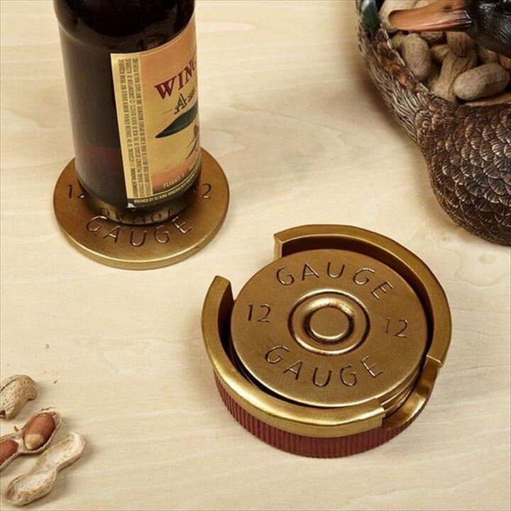Shotgun Shell Coaster