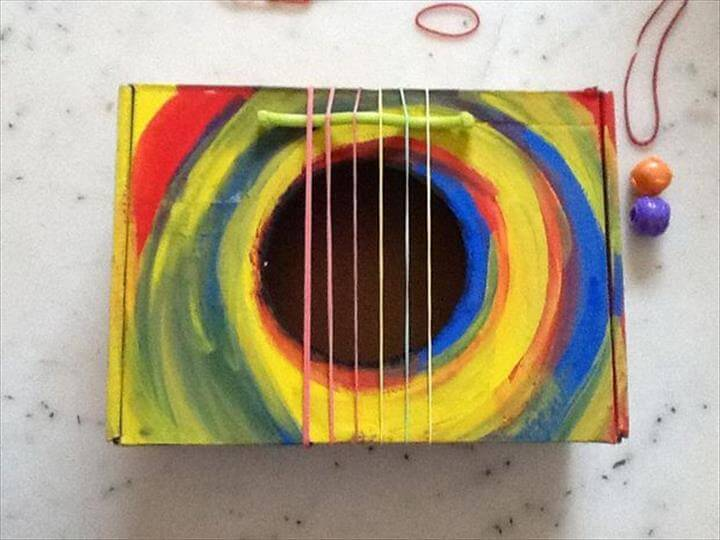 Diy- Toy Guitar Box