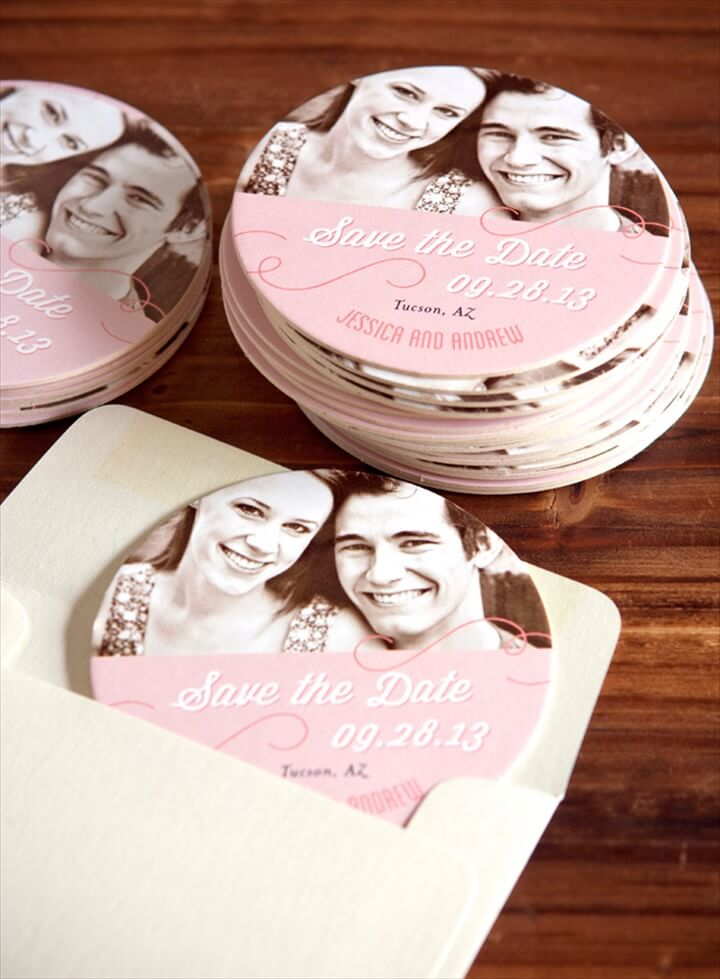 Wedding Coaster Ideas