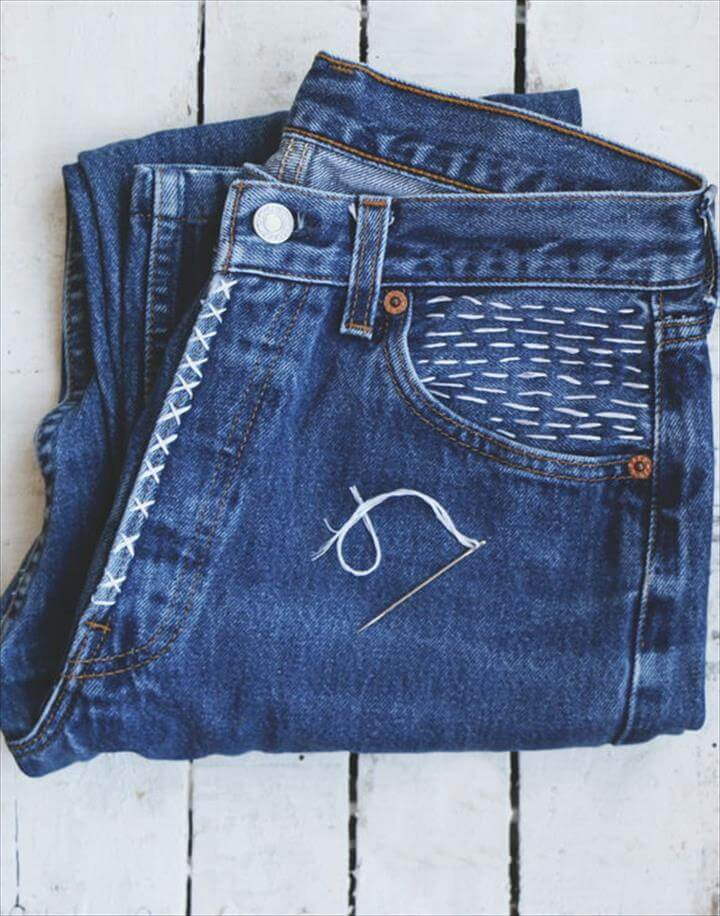 Add Texture with Embroidery