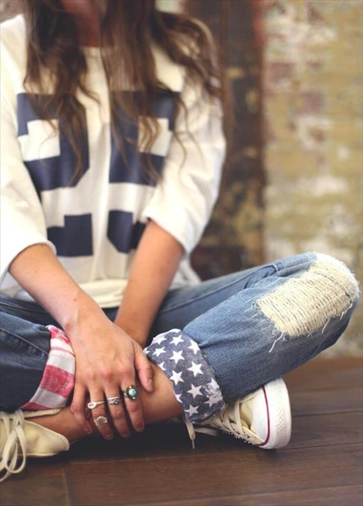 American Flag Cuffs