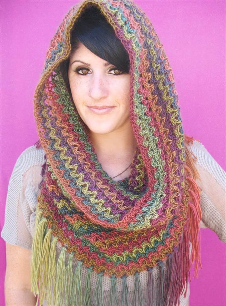 crochet Mountains Cowl