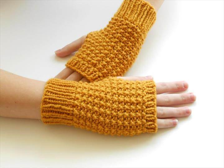 36 Fingerless Gloves Crochet Patterns The Funky Stitch