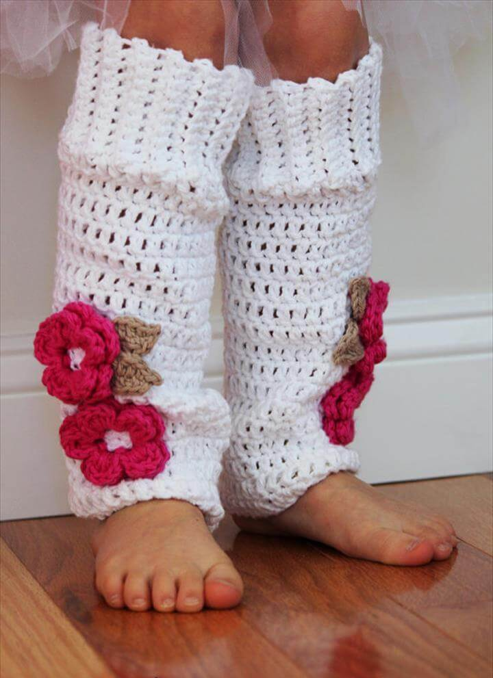 Crochet Legwarmers-Child