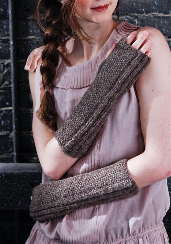 Toren Arm Warmers [knit]