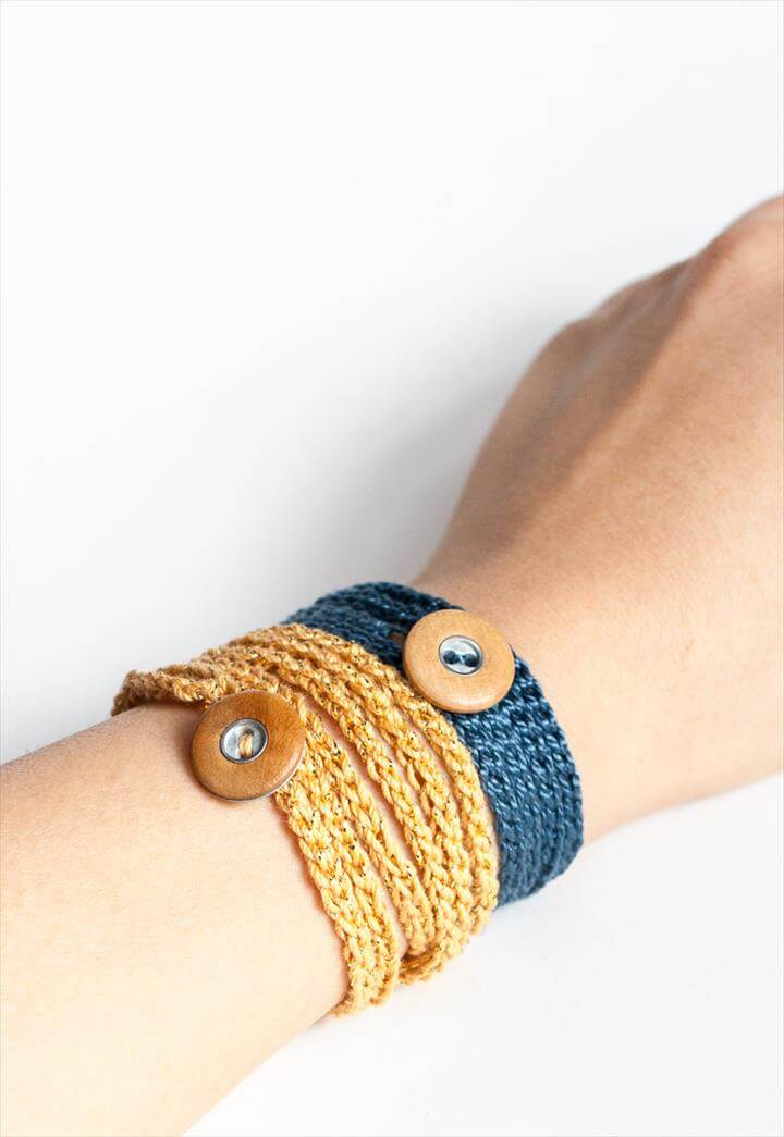 Crochet Wrap Bracele