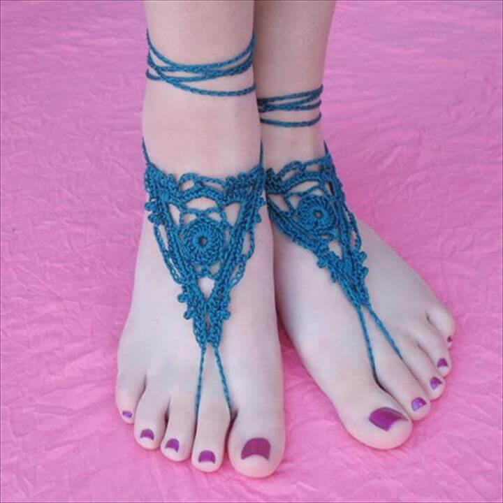 blue barefoot sandal,Gleeful Things Goddess Sandals