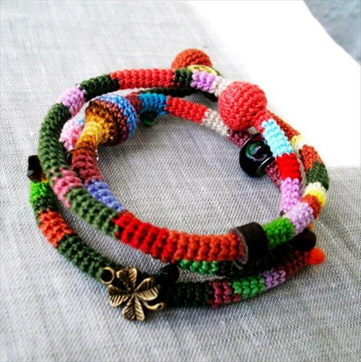 Colorful Wrap Bracelet