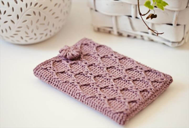 aodrable crochet phone cover
