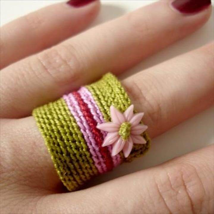 Crochet Ring Patterns And Ideas For Beginners Life Chilli Pattern