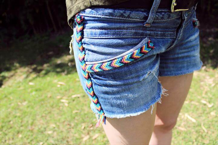 DIY Daisy Denim
