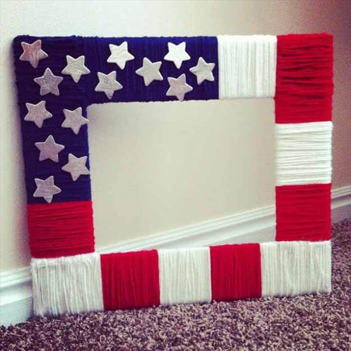 DIY Cheap and Easy Picture Frames