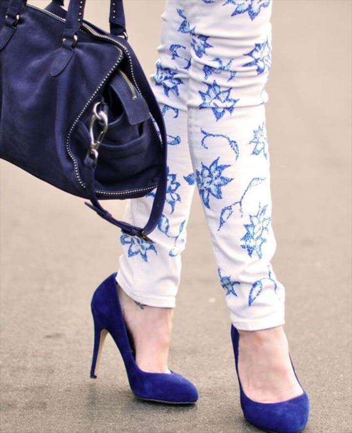 Lace Bonanza Jeans