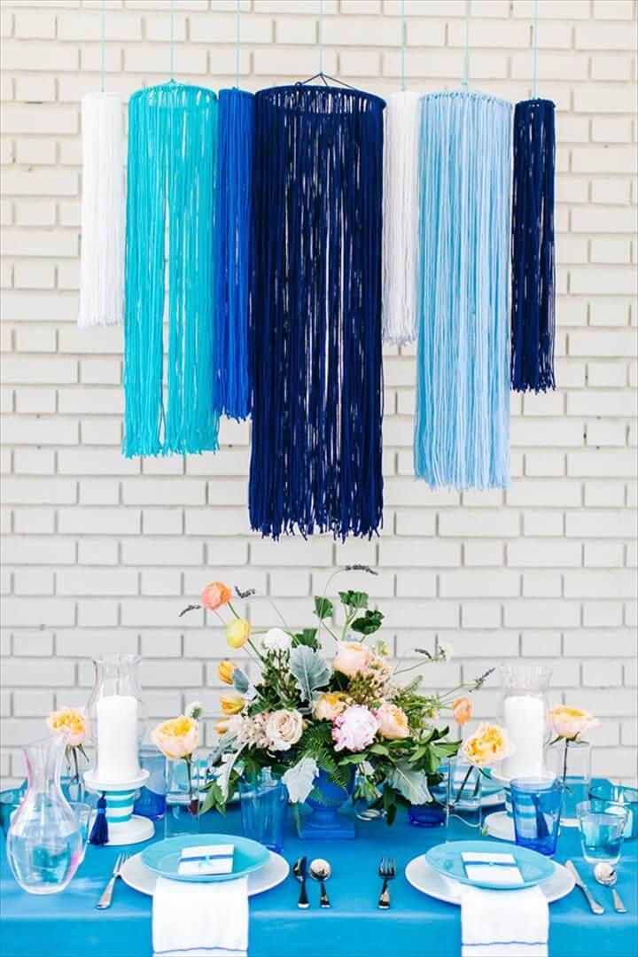 Yarn diy wedding ideas