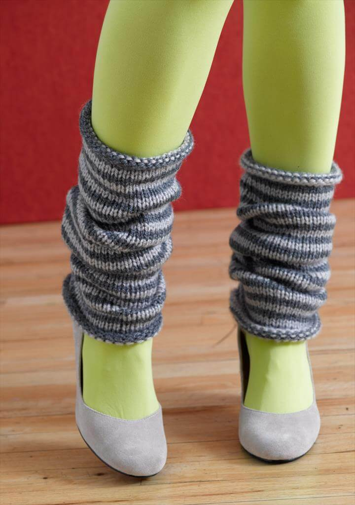 Easy Knitting Patterns For Leg Warmers