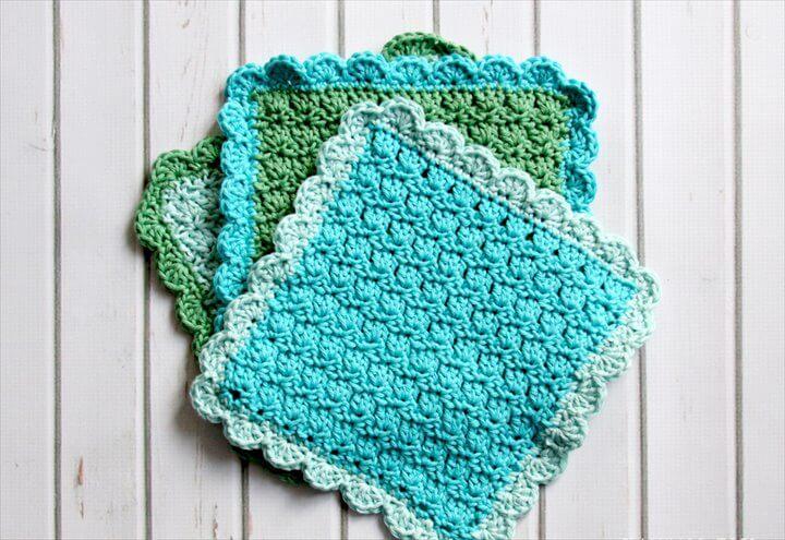 Easy Crochet Washcloths
